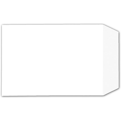 5 Star C4 Envelopes, White, Press Seal, 90gsm, Pack of 25
