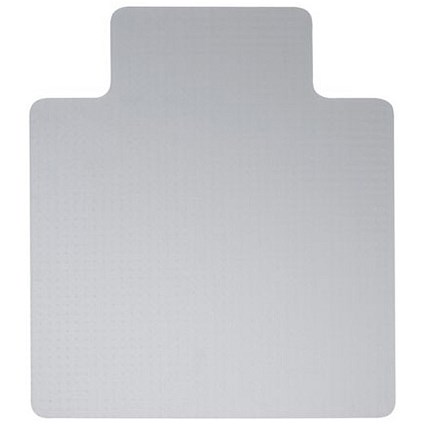 5 Star Polycarbonate / Hard Floor Chairmat / Lipped / 1200x1340mm