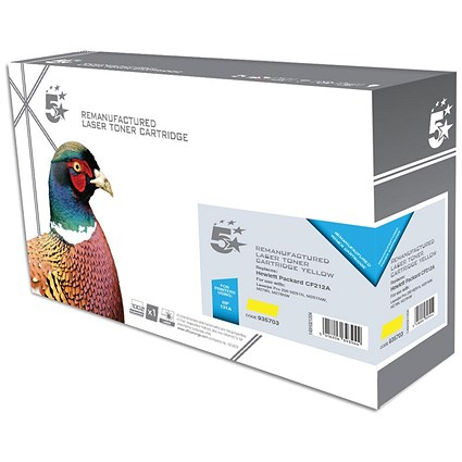 5 Star Compatible - Alternative to HP 131A Yellow Laser Toner Cartridge