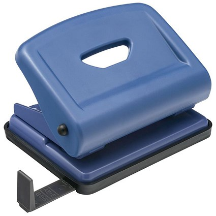 5 Star 2-Hole Punch / Blue / Punch capacity: 22 Sheets