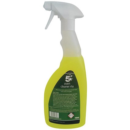 5 Star Oven Cleaner RTU - 750ml - Ready to use
