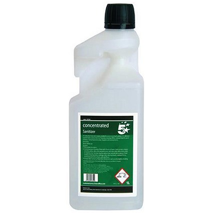 5 Star Concentrated Catering Sanitiser - 1 Litre