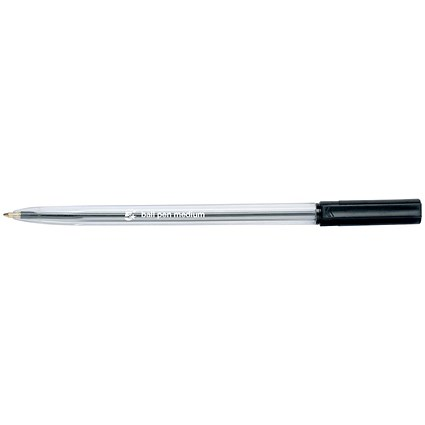 5 Star Ballpoint Pen, Black, Pack of 20