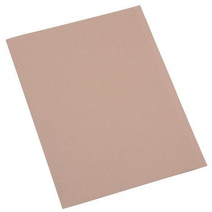 5 Star A4 Eco Slip Files / 250gsm / Buff / Pack of 50