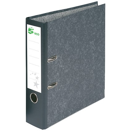 5 Star A4 Eco Lever Arch File / Recycled / Cloudy Grey