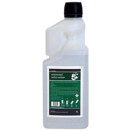 5 Star Concentrated Surface Sanitiser 1L