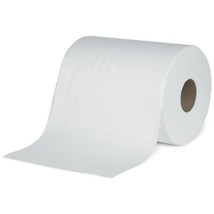 5 Star Multi-Purpose Cloths, White, Roll of 400