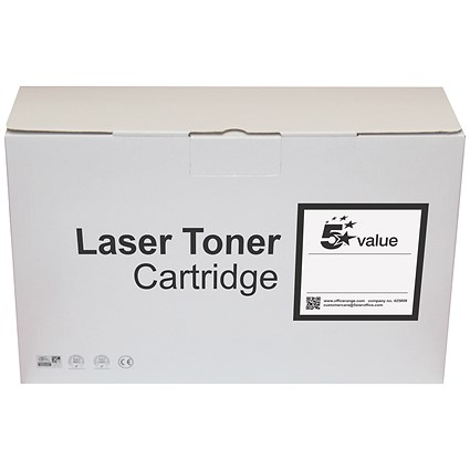 5 Star Value Compatible - Alternative to HP 55X Black Laser Toner Cartridge