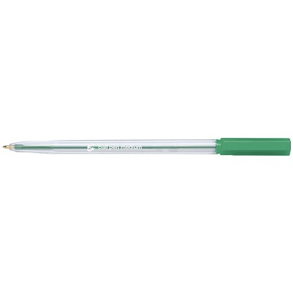 5 Star Ballpoint Pen, Green, Pack of 20