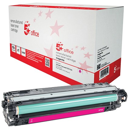 5 Star Compatible - Alternative to HP 307A Magenta Laser Toner Cartridge