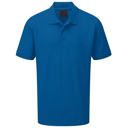 Premium Polo Shirt / Triple Stitched / Royal Blue / Medium