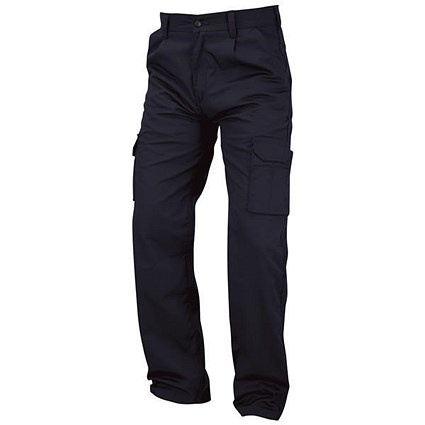 Kneepad Combat Trousers / Waist: 42in, Leg: 32in / Navy