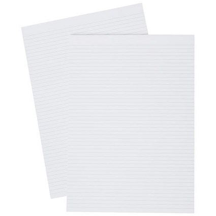 5 Star Memo Pad / A4 / Narrow Ruled / 80 Pages / Pack of 10
