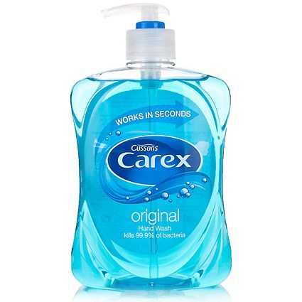 Carex Liquid Soap Hand Wash / 500ml / Pack of 2