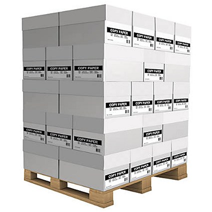 Rey Light A4 Paper, White, 75gsm, Pallet (40 Boxes)