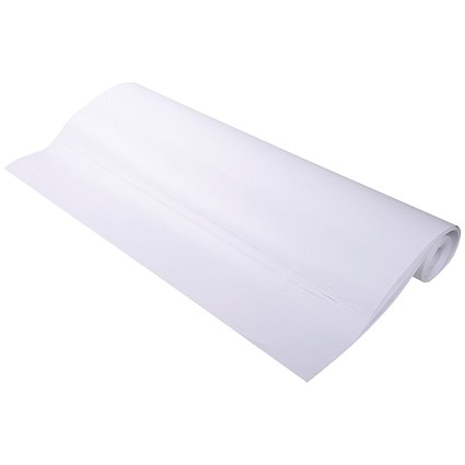 Announce Plain Flipchart Pads 650 x 100mm 50 Sheet Rolled (Pack of 5)