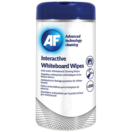 AF Interactive Whiteboard Wipes (Pack of 100)