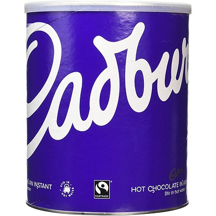 Cadbury Fairtrade Hot Chocolate Powder - 2kg
