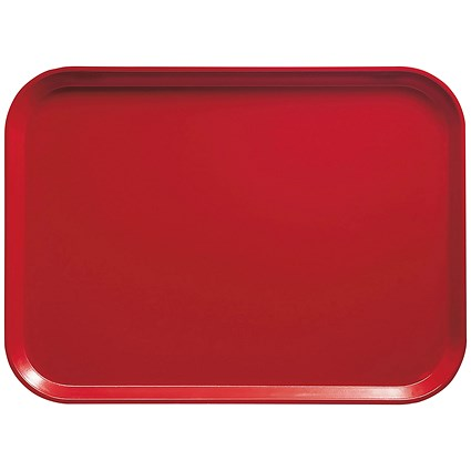 Cafeteria Tray 46x36cm Red