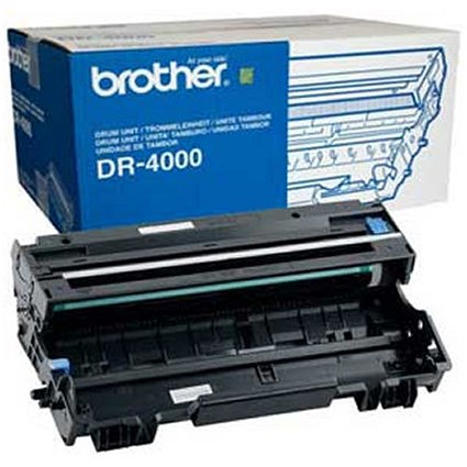 Brother DR4000 Black Laser Drum Unit