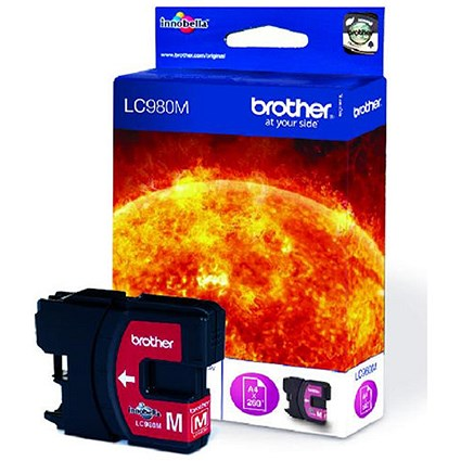 Brother LC980M Magenta Inkjet Cartridge
