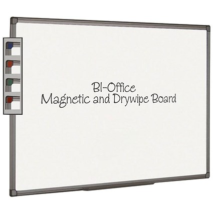 Bi-Office Aluminium Finish Magnetic Board 2400x1200mm