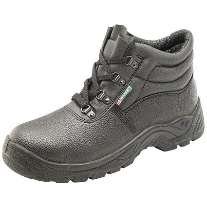 Mid Sole 4 D-Ring Boot Black Size 7