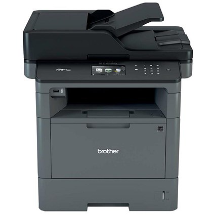 Brother MFC-L5700DN Pro All-In-One Mono A4 Laser Printer Fax 40ppm Auto Duplex Ref MFCL5700DNZU1
