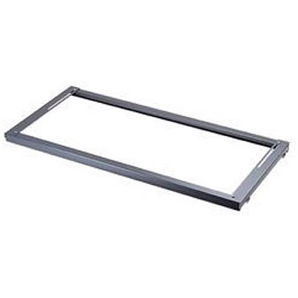 Bisley Lateral Filing Rail for Cupboard - Black