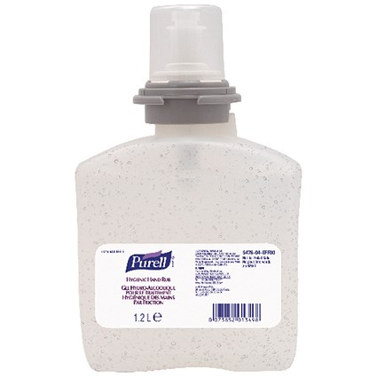 Purell Hygienic Hand Rub Gel / Refill / 1.2 Litre / Pack of 2