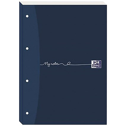 Oxford MyNotes Sidebound Refill Pad, A4, Ruled with Margin, 4 Holes, 200 Pages, Pack of 5