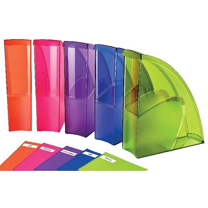 Happy by CEP Magazine File Multicoloured (Pack of 5)