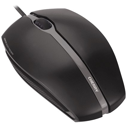 CHERRY GENTIX SILENT Wired Optical Mouse Black