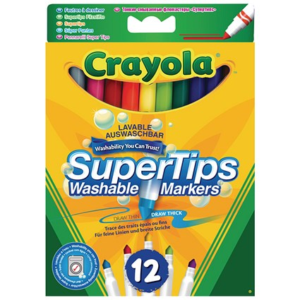 Crayola Bright Supertips (Pack of 72)