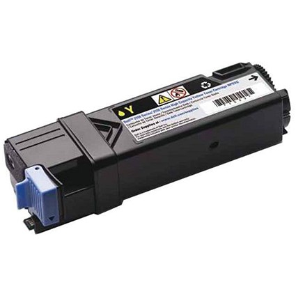 Dell 2150/2155 High Yield Yellow Laser Toner Cartridge