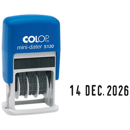 COLOP S120 Self Inking Mini Dater EM37284