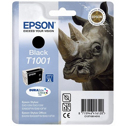 Epson T1001 Black DURABrite Ultra Inkjet Cartridge