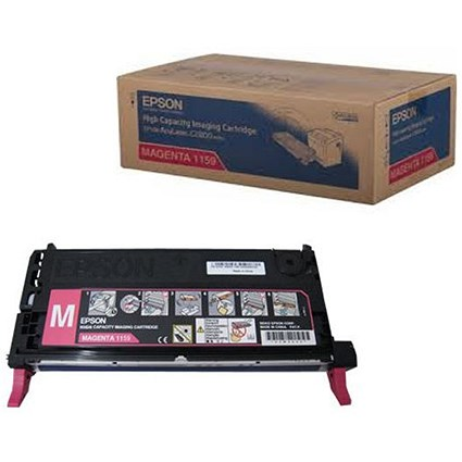 Epson S051159 Magenta High Yield Laser Toner Cartridge