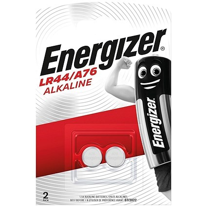 Energizer FSB-2 Alkaline Battery, LR44, 1.5V, Pack of 2