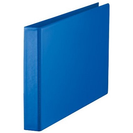Esselte Ring Binder / A3 / 4 O-Ring / 25mm Capacity / Landscape / Blue