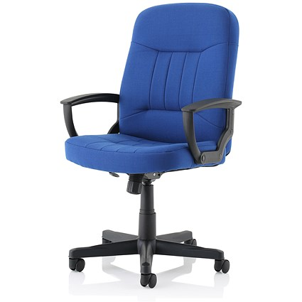 High Back Managers Chair - Blue
