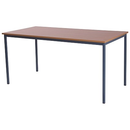 Retro Rectangular Table / 1800mm Wide / Beech