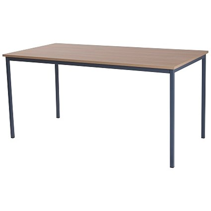 Retro Rectangular Table / 1800mm Wide / Oak