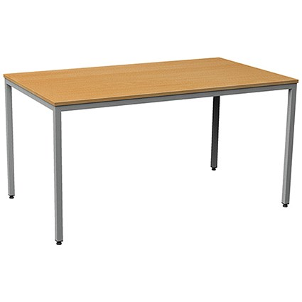 Flexi Table, Rectangular, 1600mm Wide, Beech