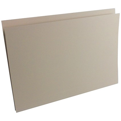 Guildhall Square Cut Folders, 315gsm, Foolscap, Buff, Pack of 100