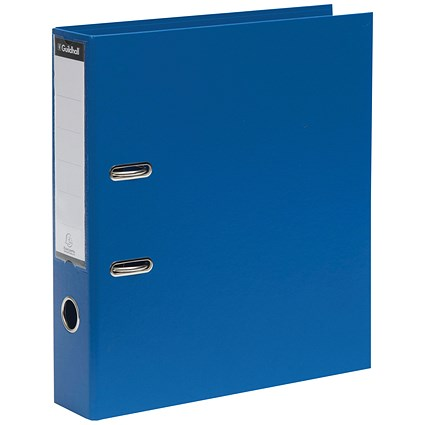 Guildhall A4 Lever Arch Files, Blue, Pack of 10