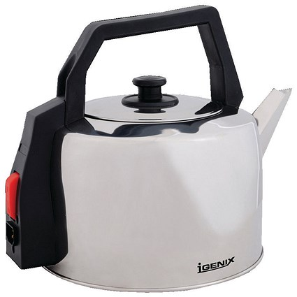 Igenix Stainless Steel Catering Kettle, 2200W, 3.5 Litres