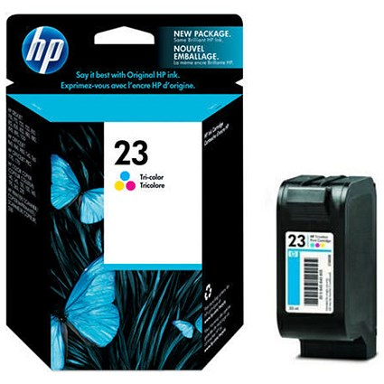 HP 23 Colour Ink Cartridge