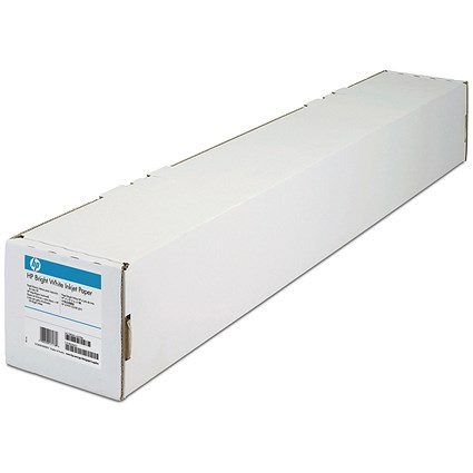 HP DesignJet Inkjet Paper Roll, 914mm x 91.4m, Bright White, 90gsm, 36 inch