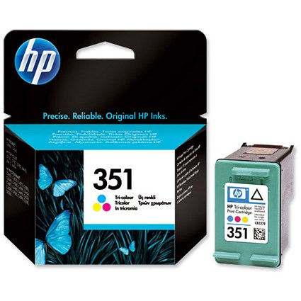 HP 351 Colour Ink Cartridge CB337EE